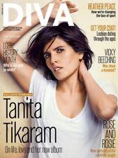 DIVA MAGAZINE FEBRUARY 2017 - TANITA TIKARAM -  LGBT HISTORY MONTH