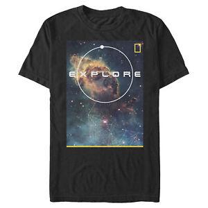 National Geographic Men's Explore Nebulae  T-Shirt