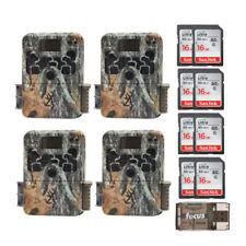 Browning Strike Force Extreme Juego Cámara (4) con tarjeta 16GB (8) y lector