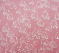 Heart Printed 100 Cotton Fabric Dressmaking Fabrics Sewing Craft by The Metre