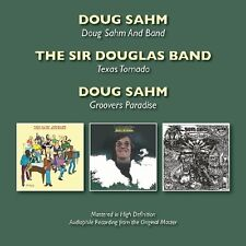 Doug Sahm - Doug Sahm & Band / Texas Tornado / Groovers [New CD] UK - Import