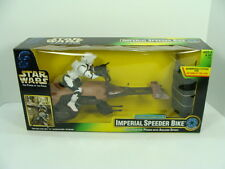 Star Wars POTF Radio Control Imperial Speeder Bike  *SEALED* NM  *LOOK*