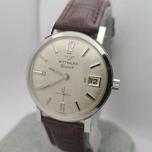 Vintage Longines WIttnauer Men's manual winding watch C11K date 1960s