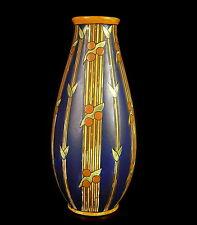 """Vase Boch Frères La Louvière modèle 786 """" Laura """" 32,5 cm vers 1925"""