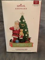 Dented Box Hallmark 2019 O Christmas Tree Once Upon A Magic Sound #9 Keepsake