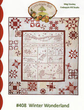Winter Wonderland Complete Block Of The Month Pattern Set