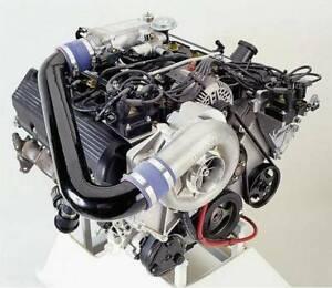 Ford Mustang GT 4.6 2V 1996-1998 Vortech Supercharger - V-3 Si Tuner Kit