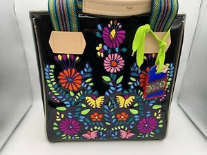 Brand New CONSUELA TIA CLASSIC TOTE Black Purse Bag