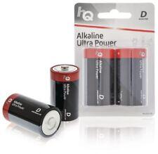 HQ Alkaline D battery 2-blister