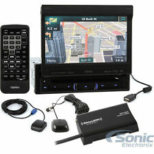 Clarion NZ503 Single-DIN GPS Bluetooth Car Stereow/ Satellite Radio Tuner