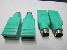 4 x Ps2 Female to Male Usb Adapter use for Pc Keyboard Mouse
