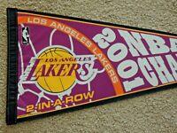2001 Los Angeles Lakers NBA Basketball Champions 30 Inch Pennant