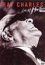 Ray Charles - LIVE AT MONTREUX 1997 DVD - Brand New