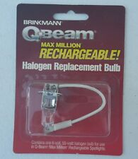Brinkmann Q-Beam Max Million Spotlight Rechargeable Halogen Replacement Bulb