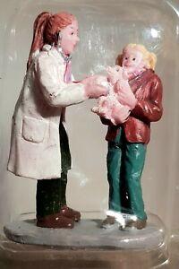 RETIRED Lemax Holidays & Seasons Figurine. Charley's Checkup.  # 52353. c.2015