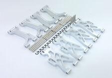 8Pcs Aluminum Front/Rear Upper/Lower Arm Fits Team Losi Mini-LST S