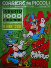 Corriere dei Piccoli 13 1969 con inserto Figurine Cocco Bill Jacovitti  - [C17]