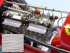 SMC Cloth Headlight Wire Pocher Rolls Royce Alfa Bugatti Fiat Mercedes WHITE 6ft