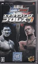 Exciting PRO WRESTLING 7 PlayStation Portable PSP Japan