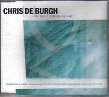 Chris de Burgh- when i Think of you  cd maxi single +innteractive cd rom