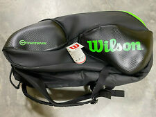 Wilson Vancouver Countervail 15 Pack Tennis Bag Black/Green