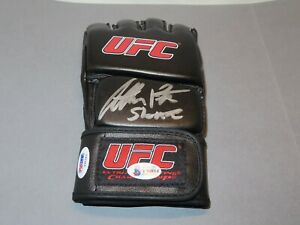 Anthony Showtime Pettis Signed UFC Glove Autographed Beckett BAS COA 1A