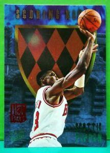 Scottie Pippen insert card Scoring Kings Hot Packs 1995-96 Fleer Ultra #9