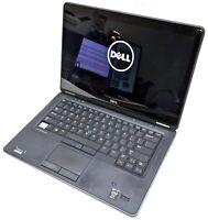 "Dell Latitude E7440 14"" Touch Laptop i7-4600U 2.10GHz 4GB RAM No HDD No OS READ"