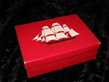 """COLLECTABLE VINTAGE """"OLD SPICE"""" GIFT BOX (Empty) 1950s"""