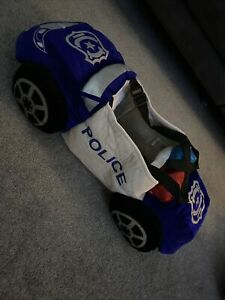 Fancy Dress Costume Police Car Vehicle Boys 3D Ride In Ages 3 -7 Yrs