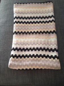 Missoni BNWOT Black/tan/cream Scarf
