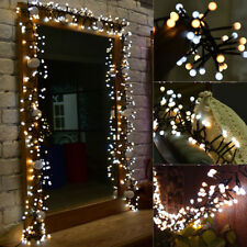 Dual-color 3M 400LED Fairy String Light Lamp Christmas Wedding Xmas Party Decor