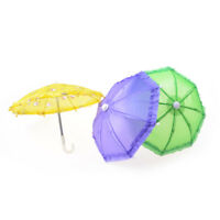 Doll Accessories Umbrella for 16 Inch 18 Inch Doll Toys Girls Christmas Gift S!