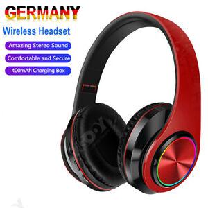 Bluetooth 5.0 Wireless Bluetooth Headphone Kopfhörer für iPhone Samsung DHL