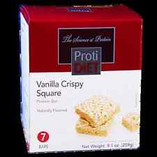ProtiDiet - High Protein Vanilla Crispy Square Bar