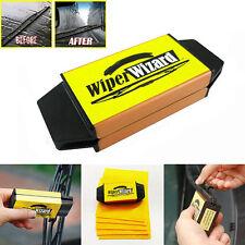 Car&Van Wiper Wizard Windshield Wiper Blade Restorer Cleaner with 5 Wizard Wipes