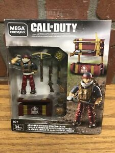 NEW Mega Construx Call of Duty ARMORED DIVISION WEAPON CRATE GFW77 34 pcs 2019