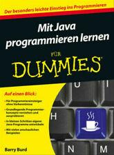 Mit Java Programmieren lernen für Dummies Barry Burd sehr guter Zustand