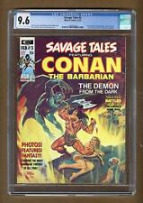 Savage Tales #2 Cgc 8.5 Red Nails Adaptation Begins Conan King Kull White Pages Other Bronze Age Comics