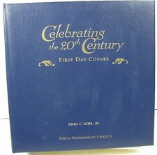Estate Stamp Collection US 20th Century 1st Day Covers in Binder 150 Cover