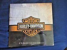 *NEW* HARLEY DAVIDSON MOTORCYCLES 2012 16 MONTH WALL CALENDAR STILL SEALED