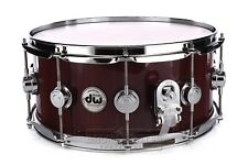 Dw Collectors Purpleheart Snare Drum 14x6.5 Natural Lacquer