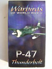 Warbirds of World War II P-47 Thunderbolt VHS Video Tape