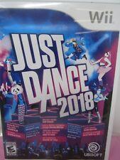JUST DANCE 2018 (Nintendo Wii, 2017) opened MM