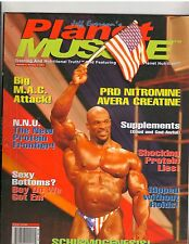 Planet Muscle bodybuilding muscle BOTTOMS UP VOL 4, NO 6 | 2001 Ronnie Coleman