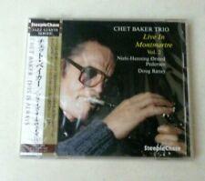 CHET BAKER TRIO - LIVE IN MONTMARTRE VOL.2 - CD JAPAN W/OBI - NUOVO! NEW! FU