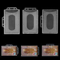 Protector Cover Badge ID Card Pouch Work Card Holders Name Card Card Sleeve