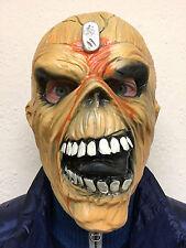 ADULT EDDIE METAL HEAD OVERHEAD LATEX HALLOWEEN COSTUME MASK IRON MAIDEN