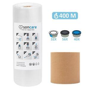 Refill sacks foil for Sangenic / Angelcare cassettes  100/200/400m + refill tube