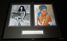 Claudia Cardinale Signed Framed 16x20 Photo Display